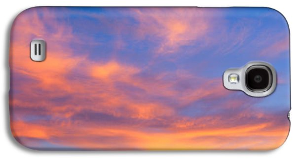 This Is A Sunset Sky Galaxy S4 Case by Panoramic Images