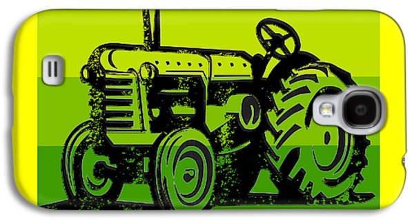 This Is How I Roll Tractor Tee Galaxy S4 Case