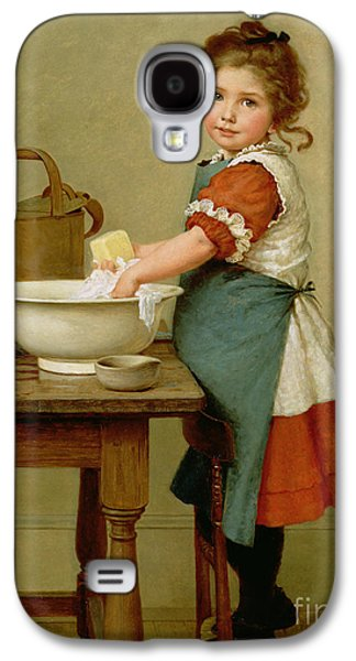 This Is The Way We Wash Our Clothes  Galaxy S4 Case by George Dunlop Leslie