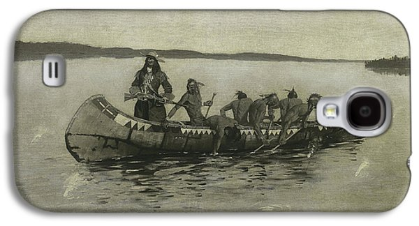 This Was A Fatal Embarkation Galaxy S4 Case by Frederic Remington