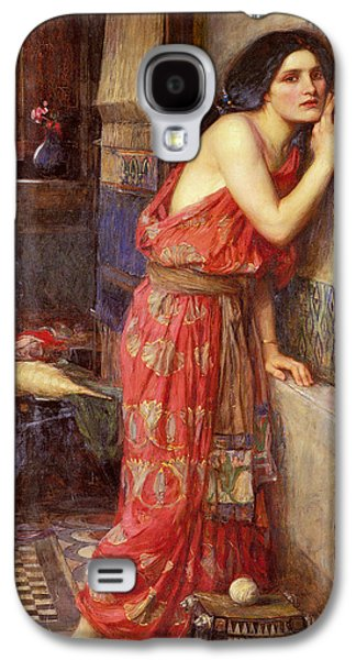 Thisbe Galaxy S4 Case by John William Waterhouse