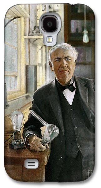 Thomas Edison Galaxy S4 Case