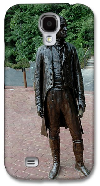 Recently Sold -  - Statue Portrait Galaxy S4 Cases - Thomas Jefferson at Monticello Galaxy S4 Case by LeeAnn McLaneGoetz McLaneGoetzStudioLLCcom