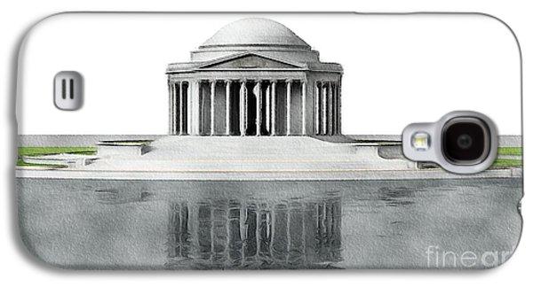 Jefferson Memorial Galaxy S4 Case - Thomas Jefferson Memorial, Washington by John Springfield