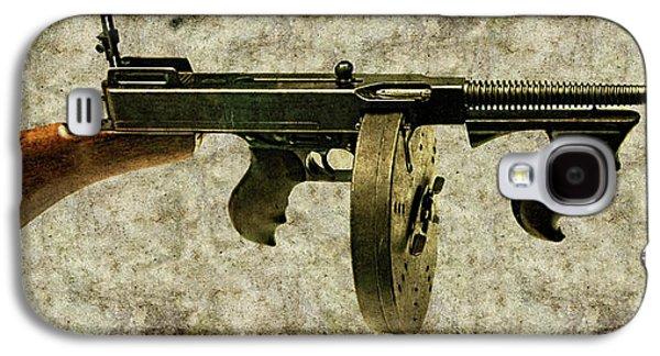 Thompson Submachine Gun 1921 Galaxy S4 Case