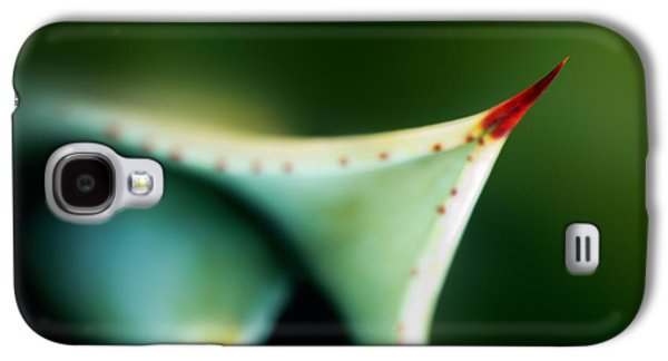 Thorn Of Aloe Leaf Close-up Galaxy S4 Case