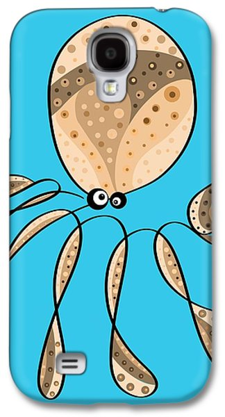 Thoughts And Colors Series Octopus Galaxy S4 Case by Veronica Minozzi