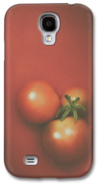 Three Cherry Tomatoes Galaxy S4 Case by Scott Norris