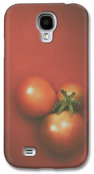 Three Cherry Tomatoes Galaxy S4 Case by Scott Norris
