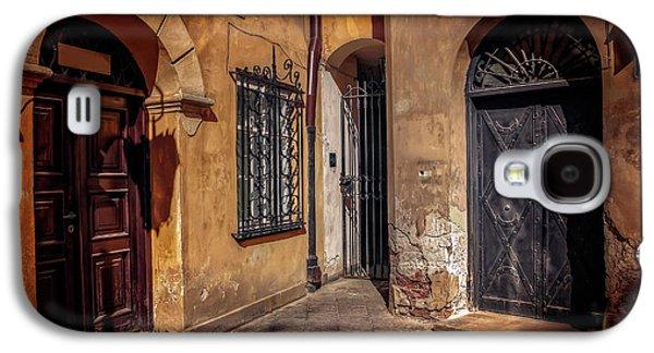 Three Doors In Warsaw Galaxy S4 Case by Carol Japp