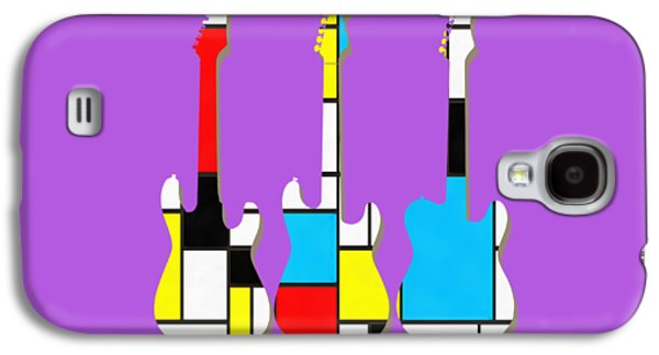 Three Guitars Modern Tee Galaxy S4 Case