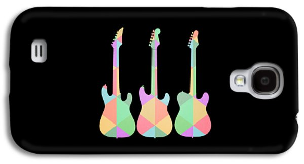Three Guitars Triangles Tee Galaxy S4 Case