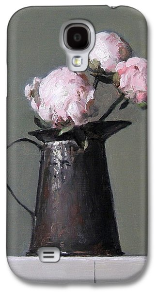Three Peony Buds In Old Tin Can Galaxy S4 Case