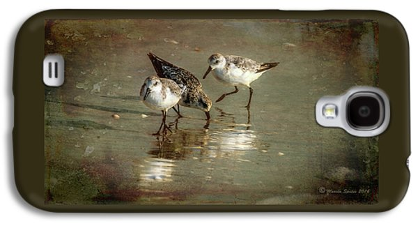 Sandpiper Galaxy S4 Case - Three Together by Marvin Spates