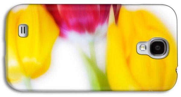Three Tulips Galaxy S4 Case by Janet Burdon