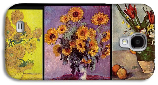 Three Vases Van Gogh - Cezanne Galaxy S4 Case
