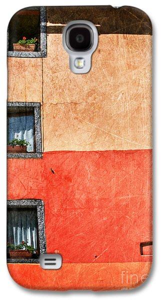 Three Vertical Windows Galaxy S4 Case