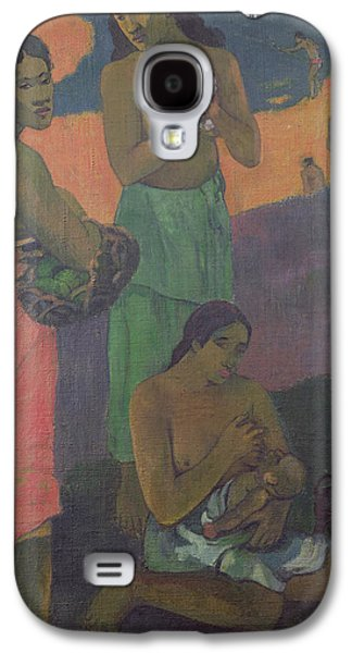 Three Women On The Seashore Galaxy S4 Case by Paul Gauguin