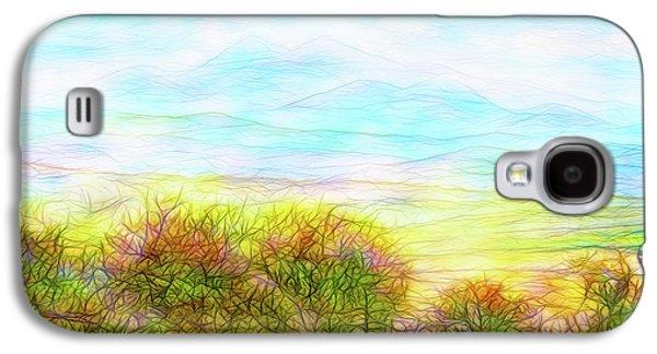 Through Mountain Mists Galaxy S4 Case by Joel Bruce Wallach