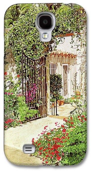 Through The Garden Gate Galaxy S4 Case