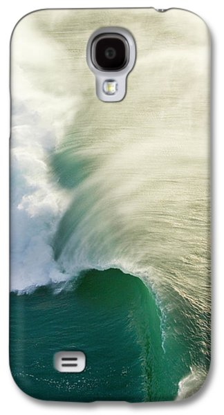 Helicopter Galaxy S4 Case - Thunder Curl by Sean Davey