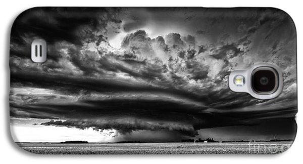 Thunder On The Prairies Galaxy S4 Case by Dan Jurak