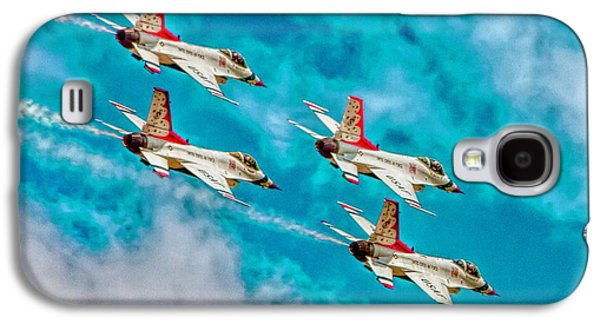 Thunderbirds In Formation II Galaxy S4 Case