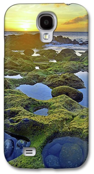 Tide Pools At Sunset Galaxy S4 Case by Tara Turner