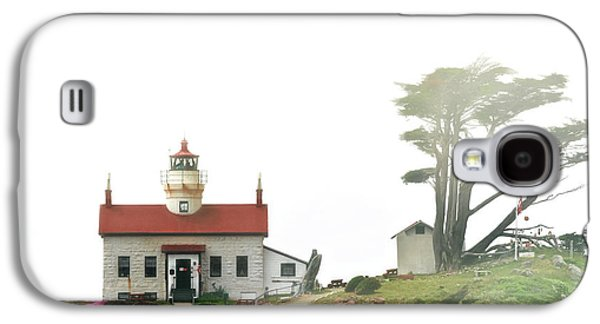 Tides Of Battery Point Lighthouse - Northern Ca Galaxy S4 Case