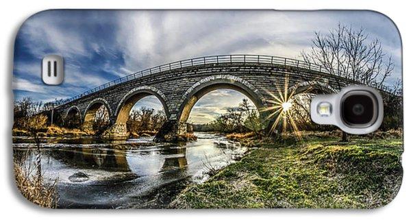 Tiffany Bridge Panorama Galaxy S4 Case