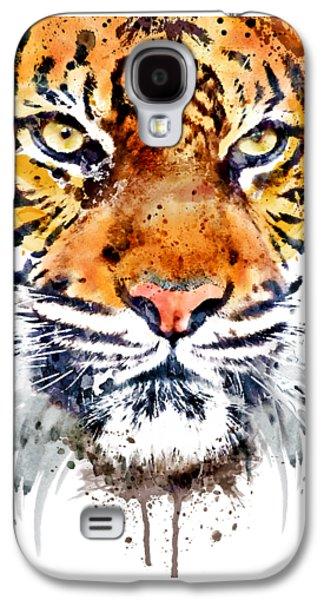 Tiger Face Close-up Galaxy S4 Case
