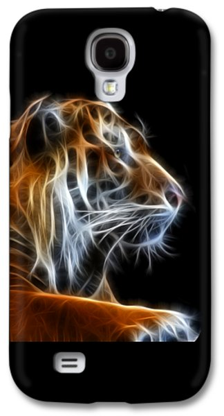Tiger Fractal 2 Galaxy S4 Case by Shane Bechler