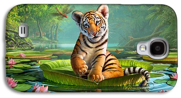 Tiger Lily Galaxy S4 Case