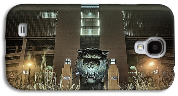 Galaxy S4 Case featuring the photograph Tiger Stadium On Saturday Night by JC Findley