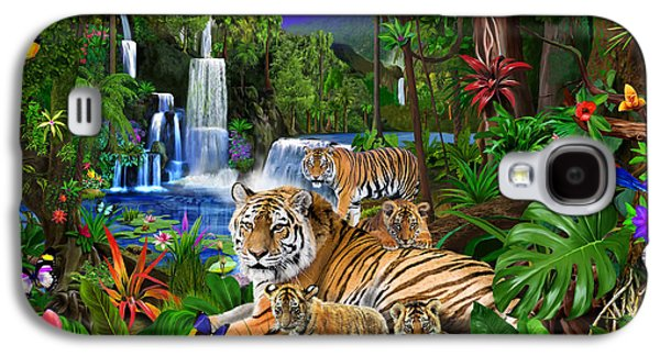 Toucan Galaxy S4 Case - Tigers Of The Forest by Gerald Newton