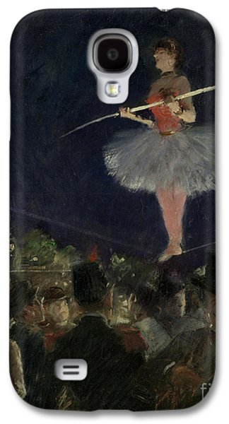 Tightrope Walker Galaxy S4 Case by Jean Louis Forain