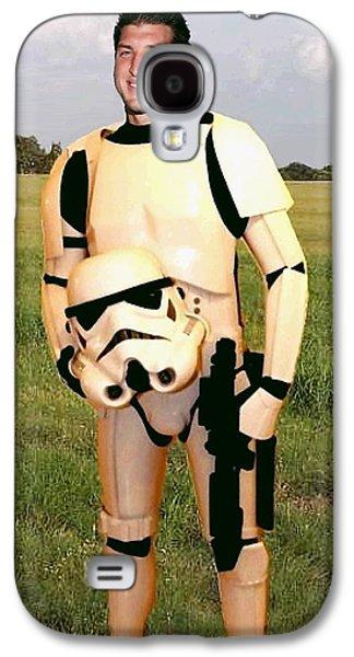 Tim Tebow Stormtrooper Galaxy S4 Case by Paul Van Scott