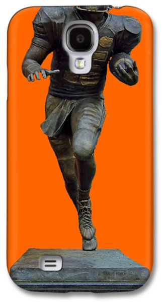Tim Tebow Transparent For Customization Galaxy S4 Case by D Hackett
