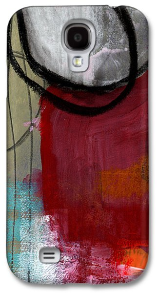 Time Between- Abstract Art Galaxy S4 Case by Linda Woods