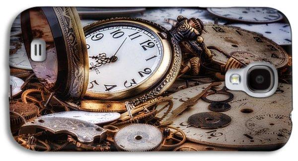 Time Machine Still Life Galaxy S4 Case by Tom Mc Nemar