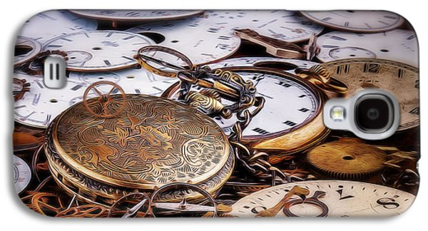 Time Pieces Galaxy S4 Case by Tom Mc Nemar