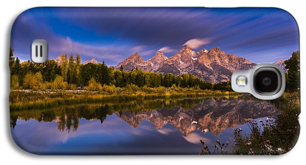Time Stops Over Tetons Galaxy S4 Case