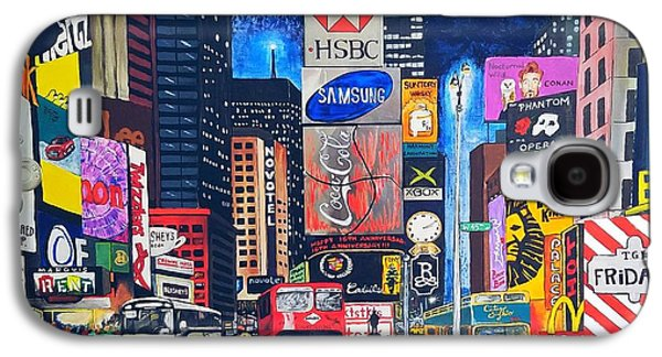 Galaxy S4 Case - Times Square by Autumn Leaves Art