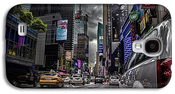 Times Square Nyc Galaxy S4 Case by Martin Newman