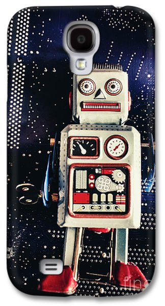 Tin Toy Robots Galaxy S4 Case by Jorgo Photography - Wall Art Gallery