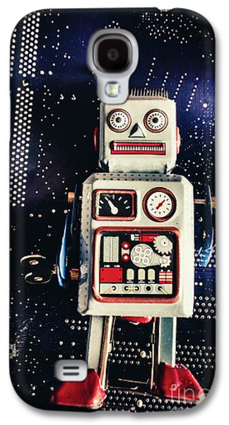 Tin Toy Robots Galaxy S4 Case