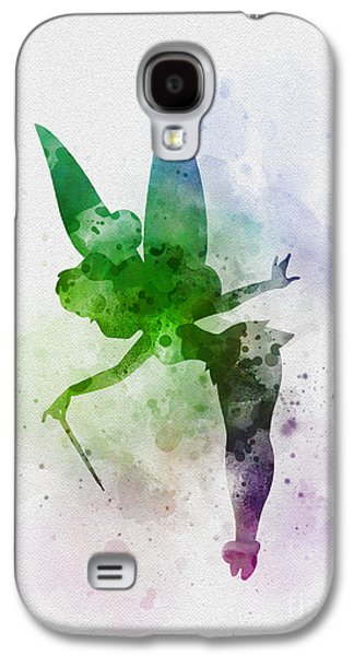 Tinker Bell Galaxy S4 Case by Rebecca Jenkins