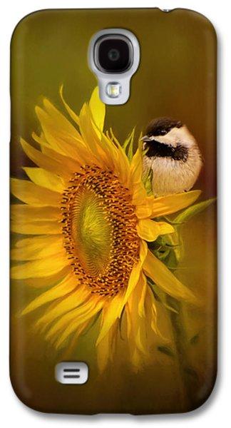 Tiny Surprise Bird Art Galaxy S4 Case by Jai Johnson