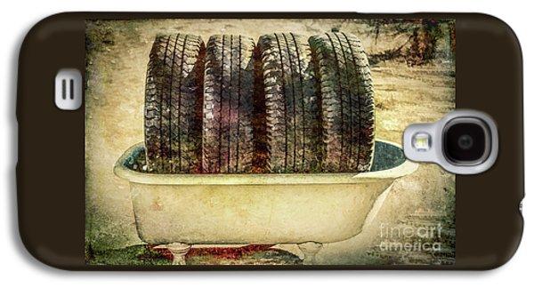Tires In The Bathtub Galaxy S4 Case