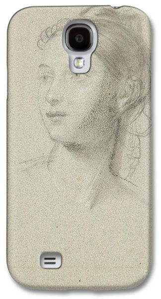 Title Female Head For Mother Watching Her Sleeping Galaxy S4 Case